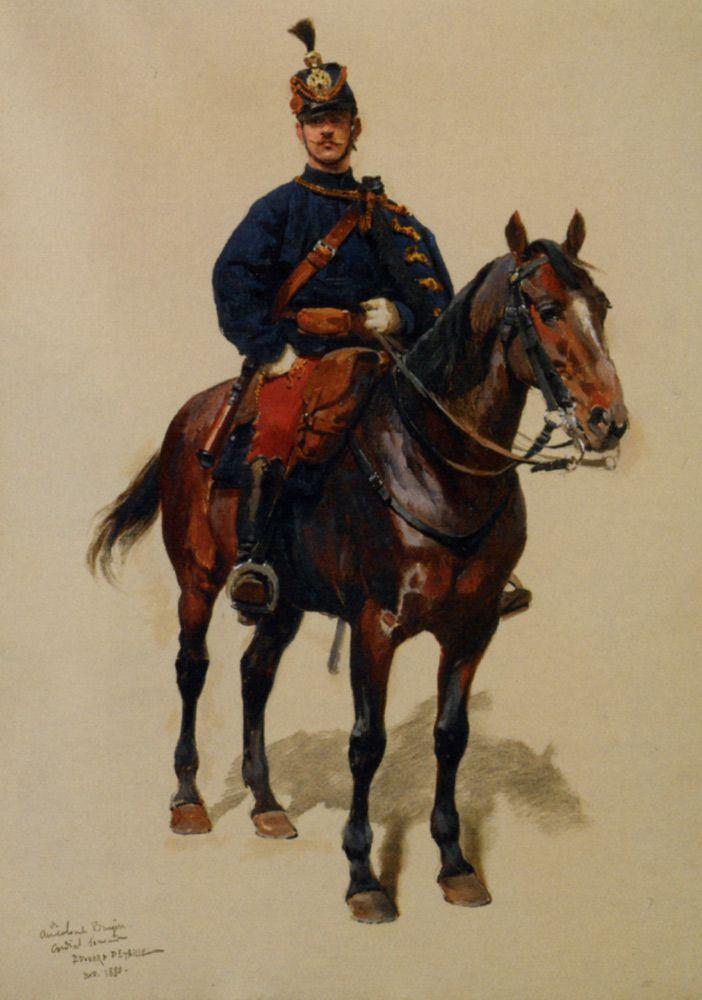 'Un soldat de la cavallerie', by Jean Baptiste Edouard Detaille