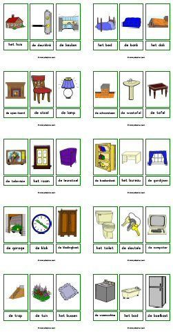 Woordkaarten downloads » Juf Sanne; diverse thema's met en zonder lidwoorden