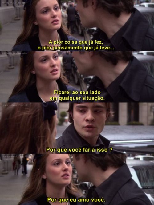 Blair e Chuck (Chair) - Gossip Girl