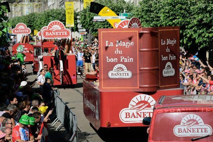 Tour de France 2016 - 06/07/2016 - Etape 5 - Limoges/ Le Lioran (216 km) - La caravane Banette
