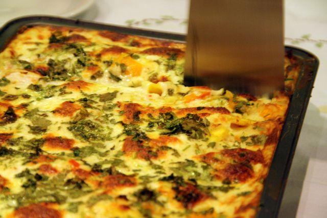 lasagne met pompoen en pastinaak: Anke Van Espen / foodbeforebrains.com