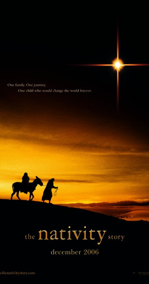 Directed by Catherine Hardwicke.  With Keisha Castle-Hughes, Shohreh Aghdashloo, Oscar Isaac, Hiam Abbass. A drama that focuses on the period in Mary and Joseph's life where they journeyed to Bethlehem for the birth of Jesus.
