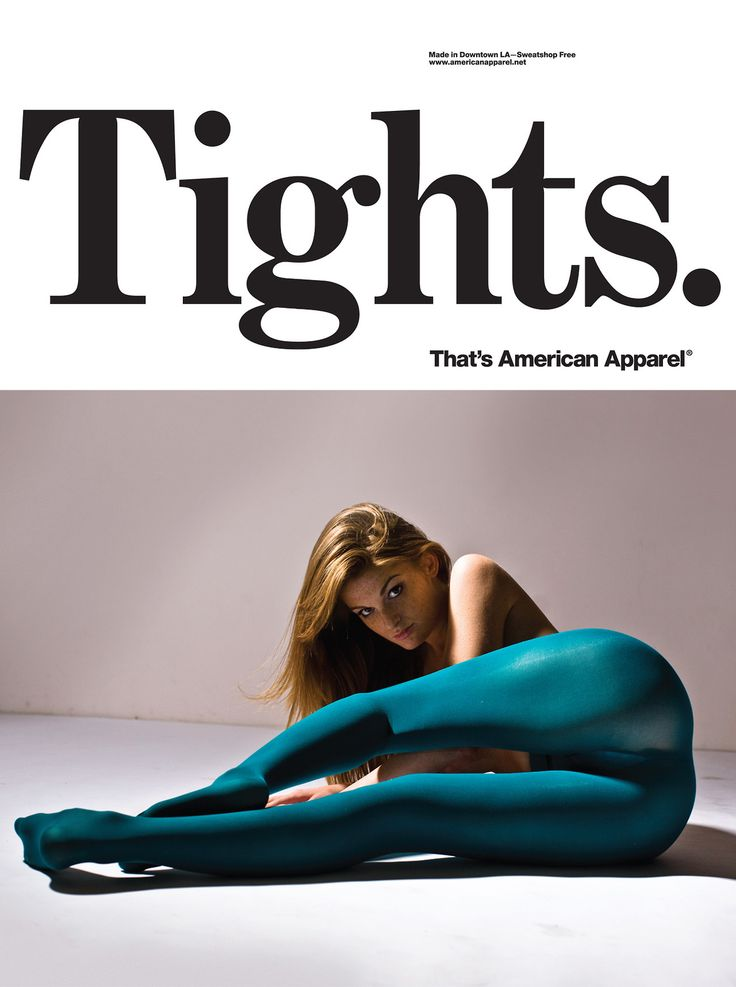 americanapparel:  Tights by American Apparel. November 2013.