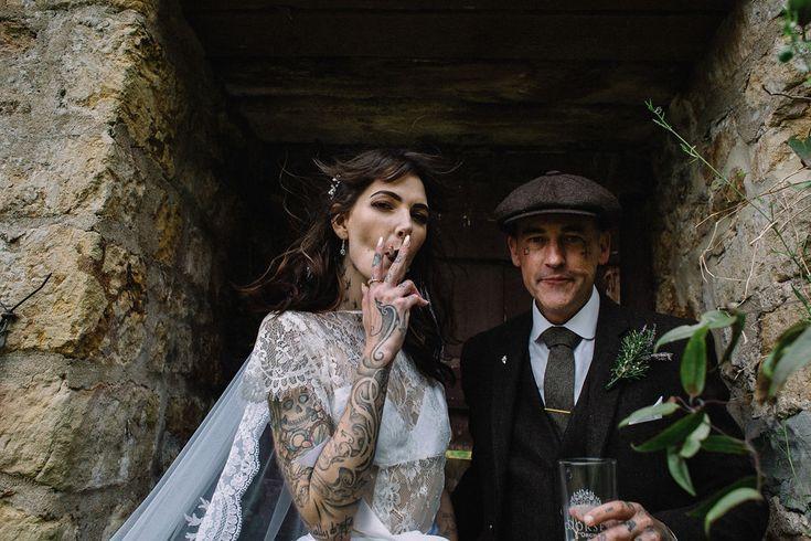 Bohemian Peaky Blinders Wedding with Lots of DIY – #Alfie #Bar #BehindTheScenes …
