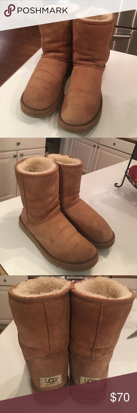 Ugg Chestnut Size 7 Uggs Chestnut Sz 7 in good used condition. No box included. UGG Shoes Winter & Rain Boots