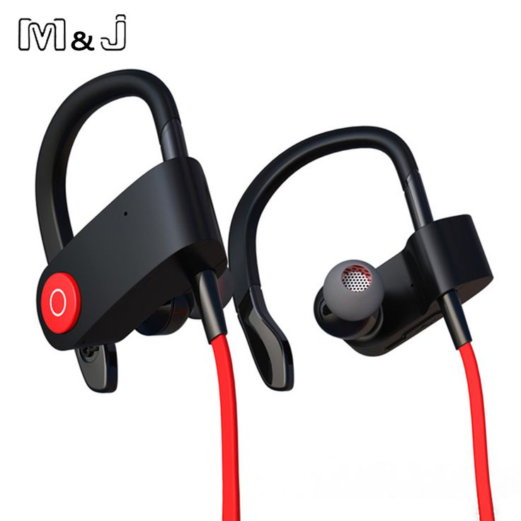 M&J M333 New Wireless Bluetooth Headset Sports Earphone Jogging Binaural Headset Hanging Ear With Microphone For Iphone Sumsang