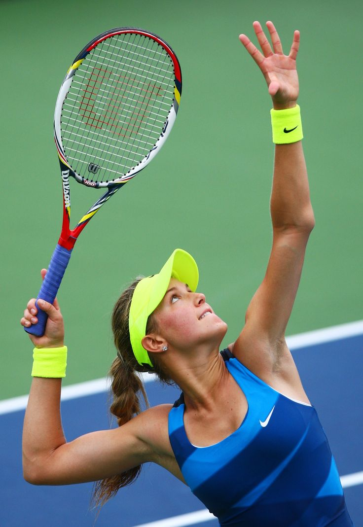 Eugenie Bouchard Photos: 2012 US Open - Day 11