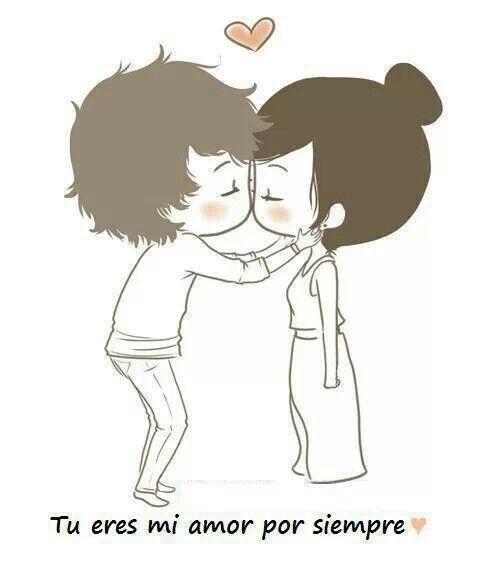 Tu eres mi amor para siempre solo espero no lo olvides...