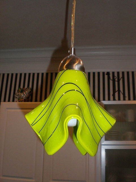Uneek Glass Fusions Art Glass, Lime Green With Black Streamers Pendant  Light. Custom Handmade For Over The Kitchen Island. Available In Mini  Pendants, ... Part 70