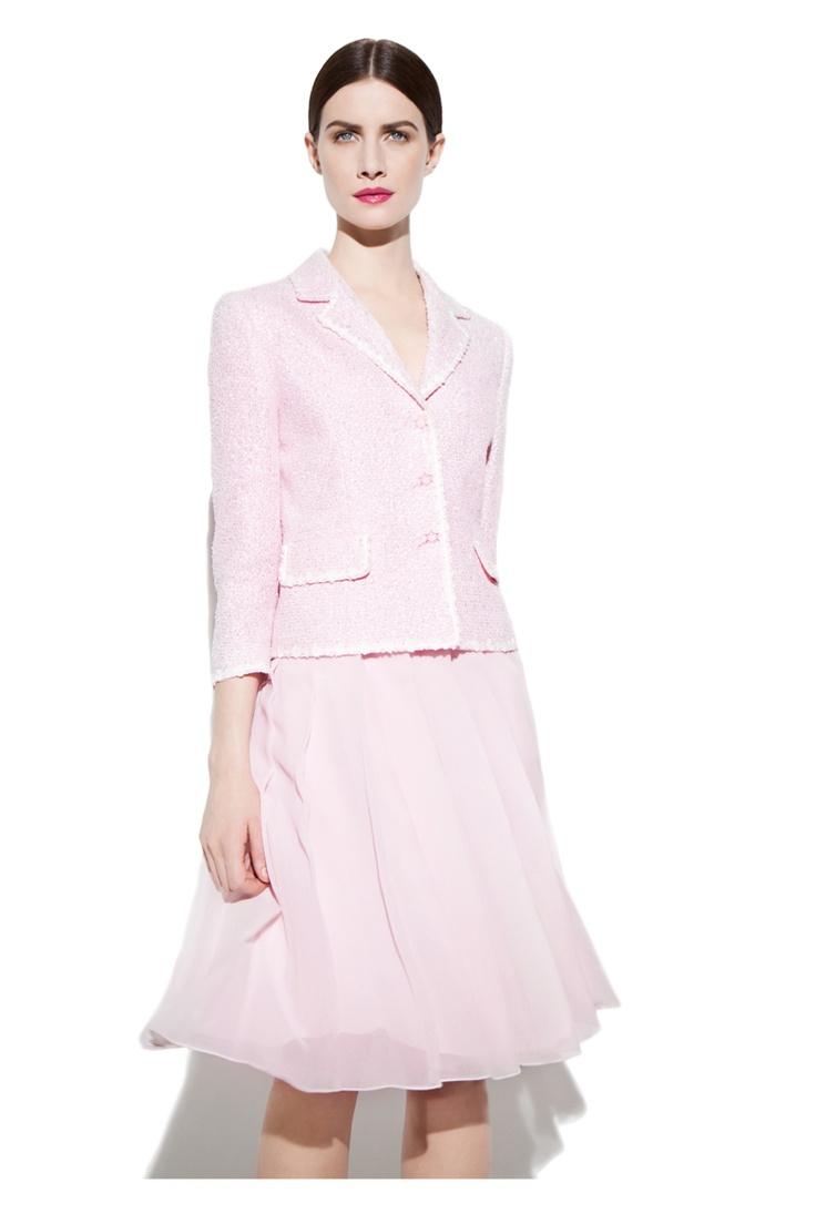 Suzy Pink Lurex Jacket and Belle Skirt