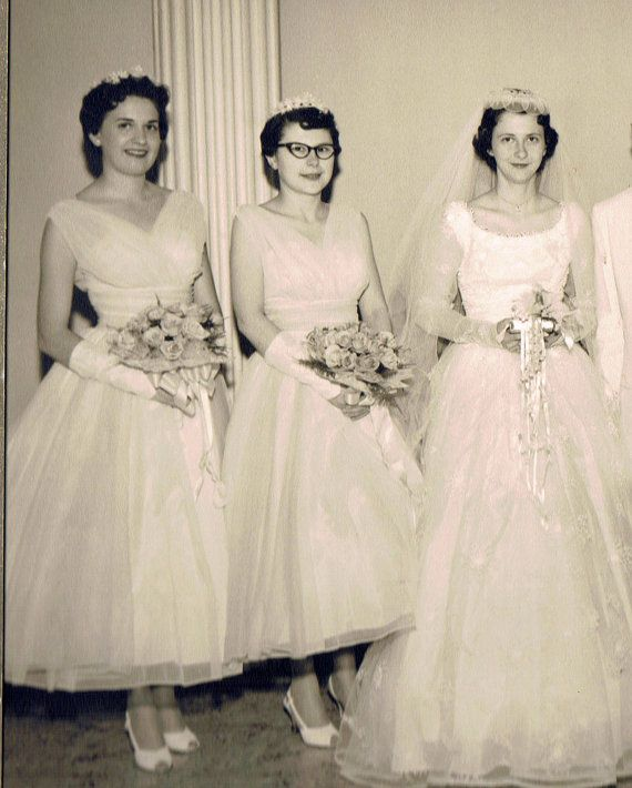 Wedding Gowns Cleveland Ohio: 17 Best Images About 1950's Wedding Dresses On Pinterest