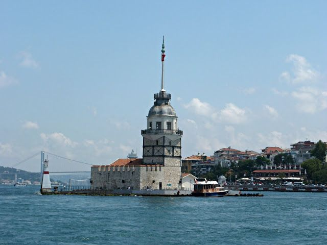 Maiden's Tower. This tower is on an island. According to legend, a sultan had a most beloved daughter he kept here because of a prophesy that on her 18th birthday a snake would bite her and she would die. Unfortunately, though she was locked away, someone gave her a basket of fruit for her 18th birthday and a snake hiding in it bit her and she died anyway