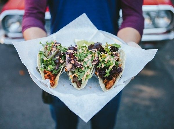 """<b><a href=""""http://www.seoultaco.com/"""">Seoul Taco</a></b><br> 6665 Delmar Blvd.<br> St. Louis, MO 63130<br> (314) 863-1148<br><br> Korean cuisine meets Mexican at this fast-casual restaurant, which began its life as a good truck. Enjoy your taco with your choice of protein (spicy pork, chicken, tofu or steak) topped with Korean salad mix, """"Seoul"""" sauce, green onion, crushed sesame seeds and a lime wedge. Photo by D.W. Johnson."""