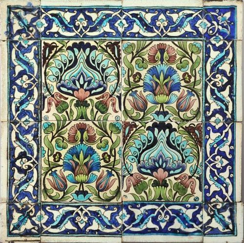 "Persian tiles, William de Morgan. William De Morgan (16 November 1839 – 15 January 1917) was an English potter and tile designer. A lifelong friend of William Morris, he designed tiles, stained glass and furniture for Morris & Co. from 1863 to 1872. His tiles are often based on medieval designs or Persian patterns, and he experimented with innovative glazes and firing techniques. Galleons and fish were popular motifs, as were ""fantastical"" birds and other animals. Many of De Morgan's tile…"