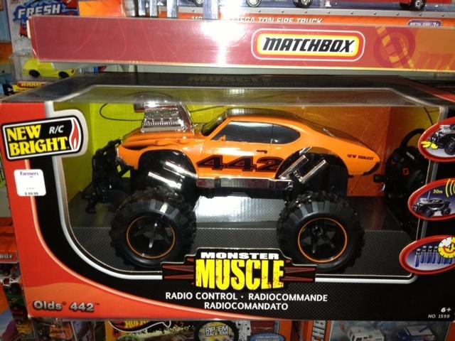 Fernando, Farmers.  Monster muscle radiocommande, $69.99