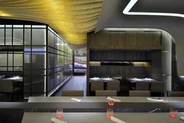 KBK Aravaka Japanese restaurant by GBCAA Architects, Madrid – Spain » Retail Design Blog