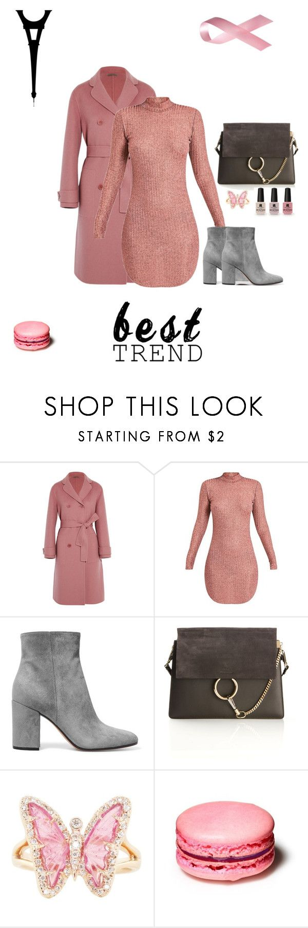 """#pink power"" by joe-khulan on Polyvore featuring Bottega Veneta, Gianvito Rossi, Chloé, Luna Skye and Victoria's Secret"