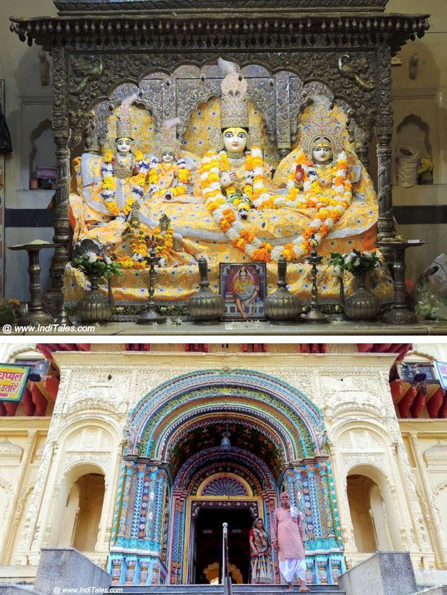 Ram Darbar at Kanak Bhavan Temple Faizabad District, Ayodhya, Uttar Pradesh Ayodhya - Travel Guide To City Of Ram & Ramayan (via Inditales)