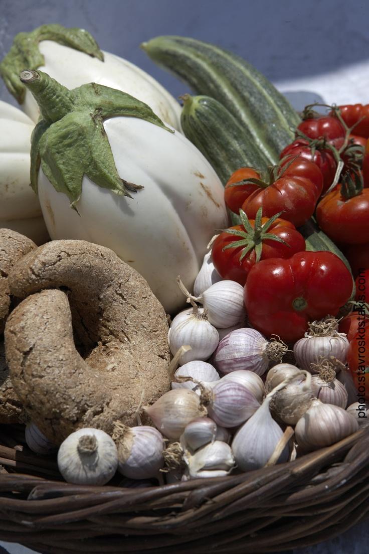 Visit Greece|Basic Greek Ingredients of Cretan or Mediterranean diet