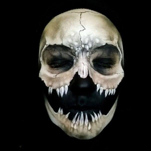 best 20 halloween face paintings ideas on pinterest halloween face skull face paint and scary face paint - Halloween Face Painting For Girls