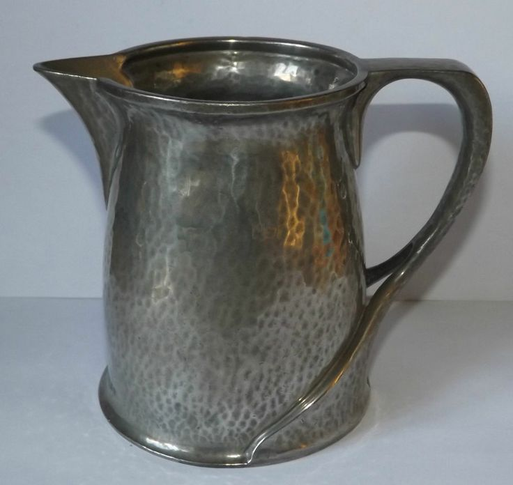 Liberty & Co Tudric Pewter  Jug 066 Solkets Arts & Crafts Archibald Knox Antique