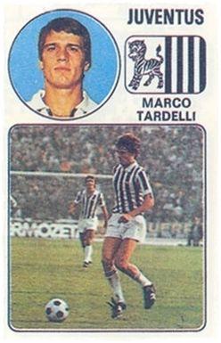 Tardelli - Panini Euro Fútbol 77