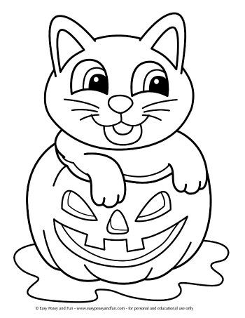 halloween coloring pages  easy peasy and fun in 2020  halloween coloring book free halloween