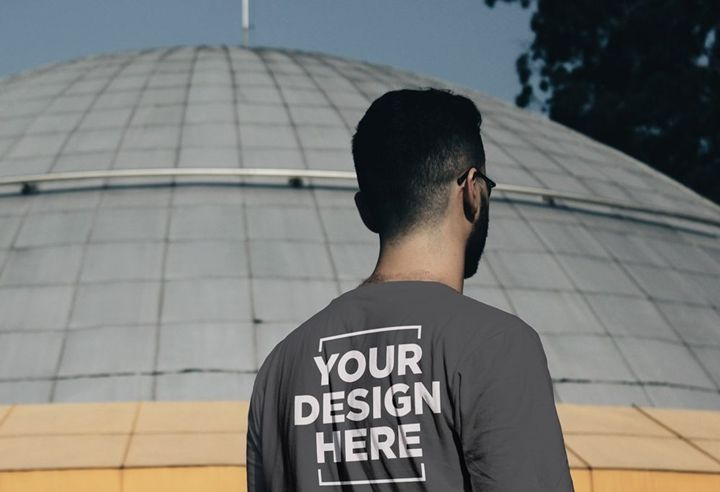 Download Free Customizable Male T Shirt Back Mockup In Psd Customizable Male Tshirt Back Mockup Psd Shirt Mockup Tshirt Mockup Free Photoshop