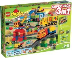 LEGO Duplo - Vonat Super Pack (66524)