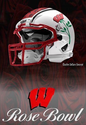 #Wisconsin #badgers badger rose