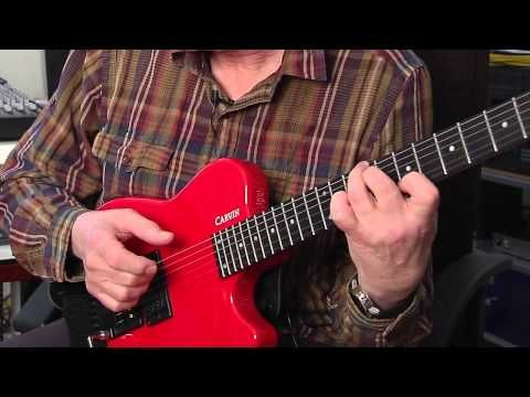 Allan Holdsworth- talks about his Carvin Guitars Headless signature model - YouTube
