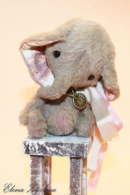 Мишки Тедди ручной работы. Ярмарка Мастеров - ручная работа. Купить слоник…