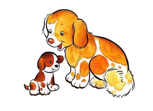 (2016-12) Hund/tæve og hvalp