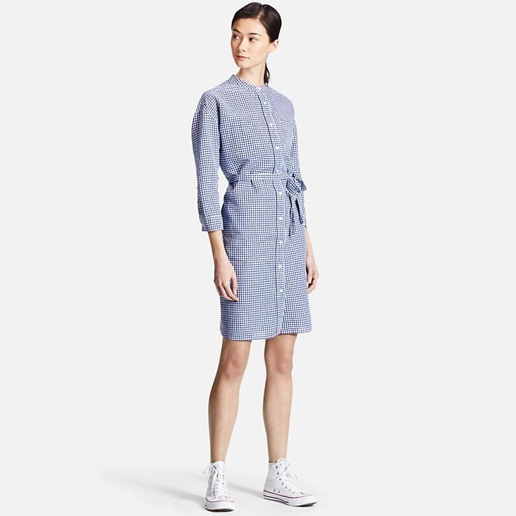 UNIQLO Linen Cotton Dress