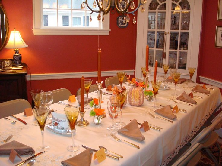 Thanksgiving Dinner Table Decorations 29 best thanksgiving decorations images on pinterest | fall