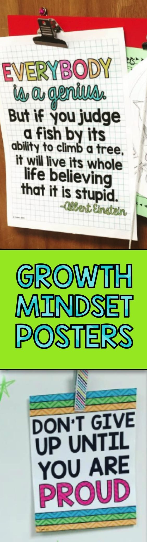 Growth Mindset Posters for the classroom