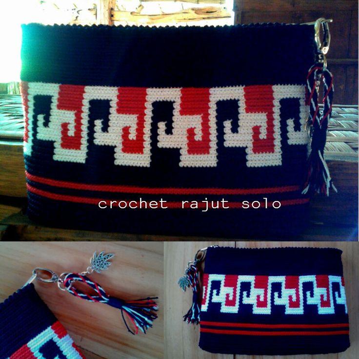 Mochila tapestry tridatu #crochetrajutsolo