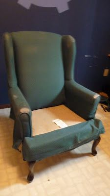 I could Get addicted to this. Step by step instruction for how to re-upholster furniture. Best tutorial I have seen yet.