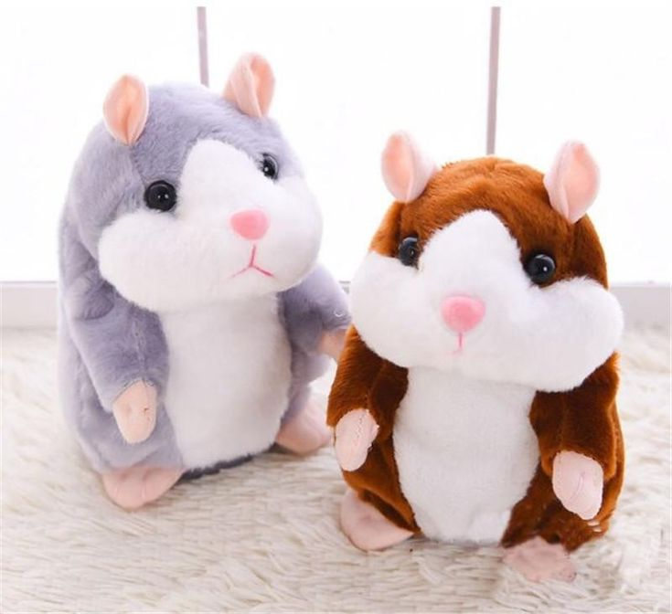 Kawaii Talking Hamster Plush Toy, Black Friday Sale! Get these amazing original gifts For people you love! ❤️🙆‍♀️🎄🎁🎀