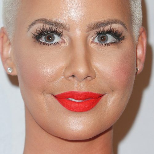 Amber Rose's Makeup Photos & Products | Steal Her Style