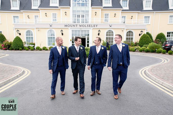 The lads in the morning. Weddings at Mount Wolseley photographed by Couple Photography.