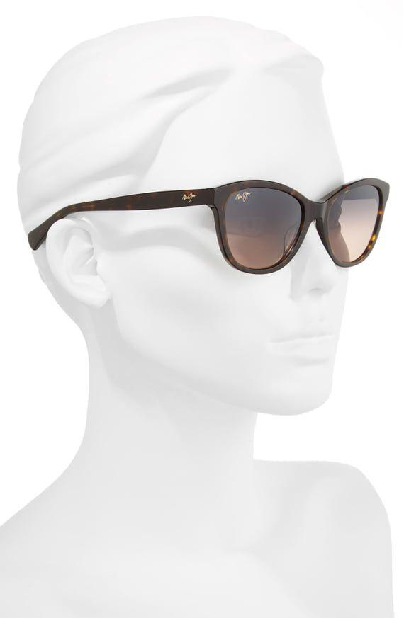 718126b611cf Maui Jim Canna 54mm Polarized Cat Eye Sunglasses   Nordstrom ...