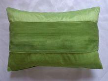 Polyester Faux seda plissada Almofada / Travesseiro / Travesseiro Capa em 30x50cm(China (Mainland))