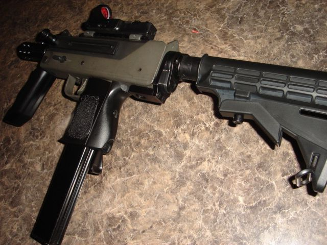 AR Adapter & 6 Position Stock for Mac-10 SMGLoading that magazine is a pain! Get your Magazine speedloader today! http://www.amazon.com/shops/raeind