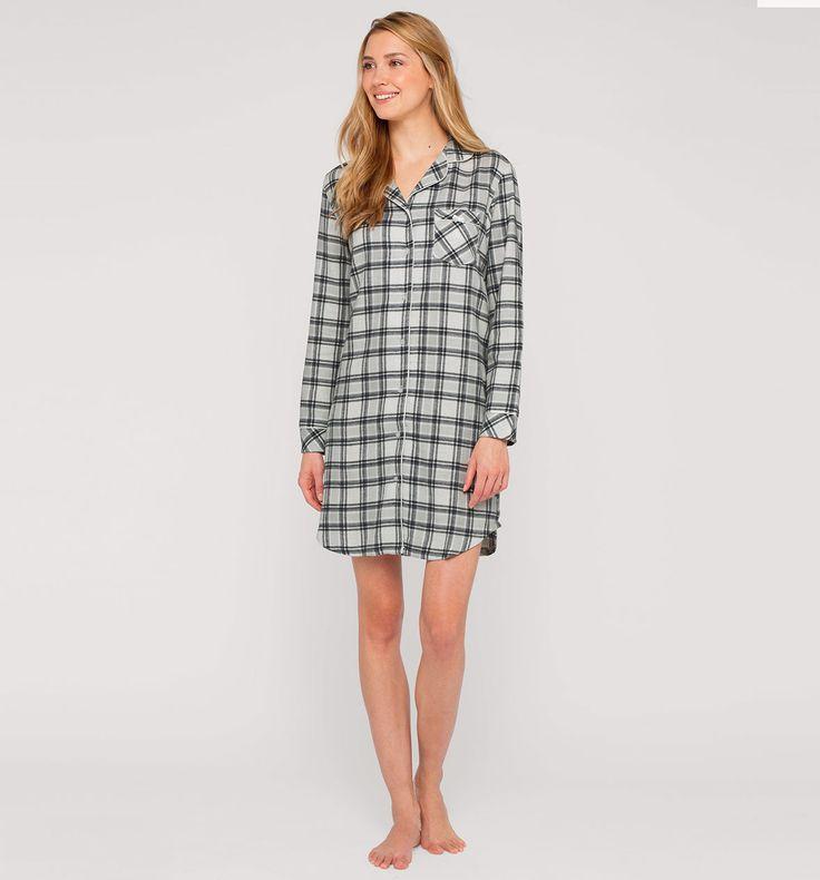 Sklep internetowy C&A | Koszula nocna, kolor:  biały / czarny | Dobra jakość w niskiej cenie