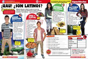 Latino teen celebrities