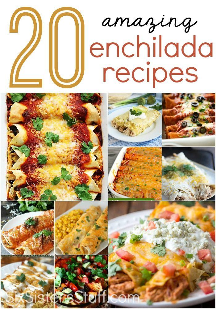 20 amazing enchilada recipes your family will love…
