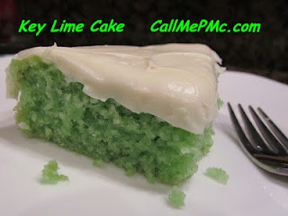 Call Me PMc: Easy Key Lime Cake with Key Lime Cream Cheese Frosting