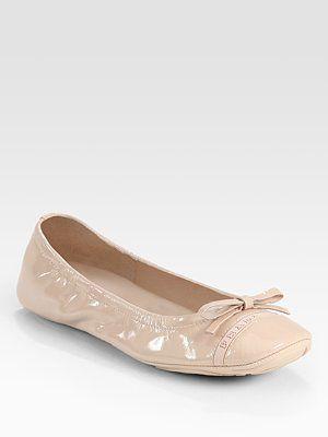Prada ballet flat: Patent Leather, Fashion Ballet Flats, Prada Ballet, Fav Shoes, Bows Ballet, Prada Patent, Comforter Ballet, Fabulous Flats, Leather Bows