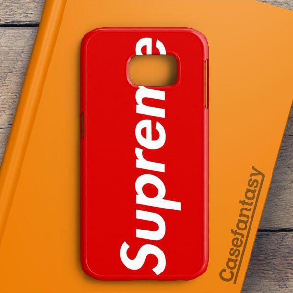 arrives 28f12 064fa Supreme New York Clothing Skateboarding Samsung Galaxy S6 Edge Plus ...
